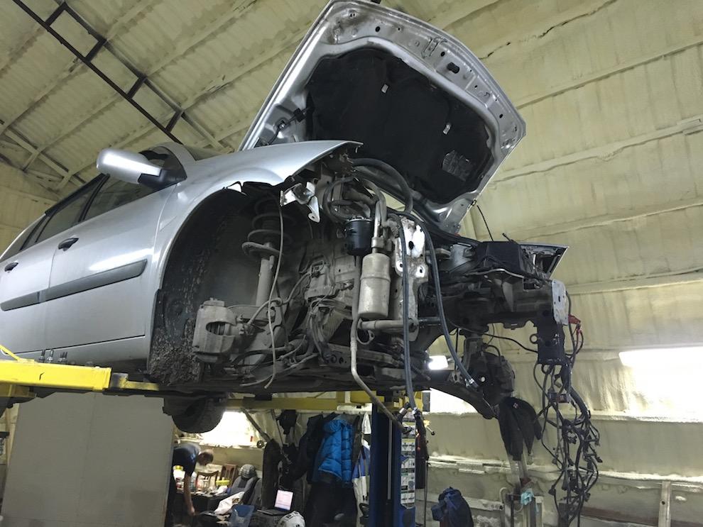 Сколько времени занимает замена двигателя